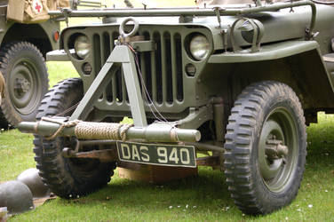 1940s Day Army Jeep by sicklittlemonkey