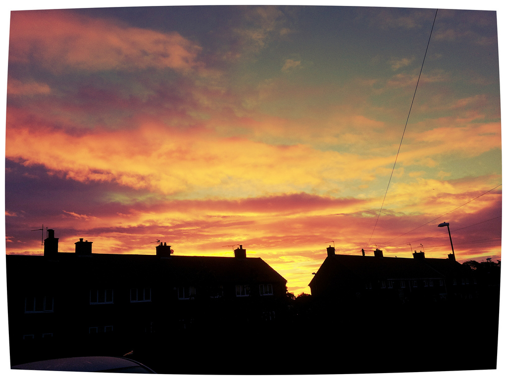 Day 216 Sunrise by sicklittlemonkey