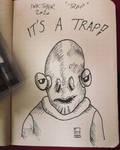 Inktober 18 trap