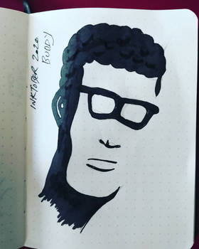 Inktober 25 Buddy (Holly)