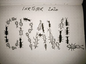Inktober 31 crawl