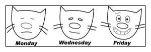 Cat's week at work