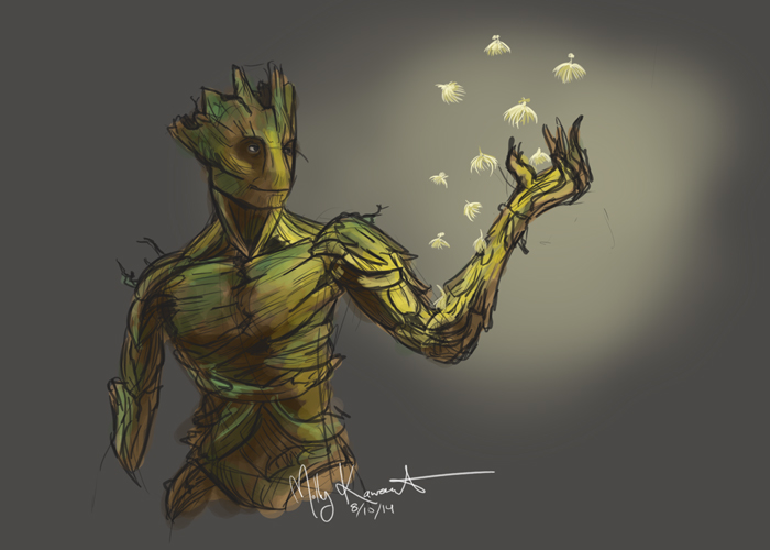 Groot: The Gentle Giant by MarikoRose