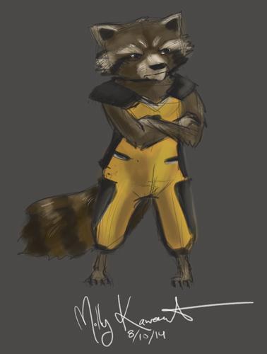 Rocket Speed Paint by MarikoRose