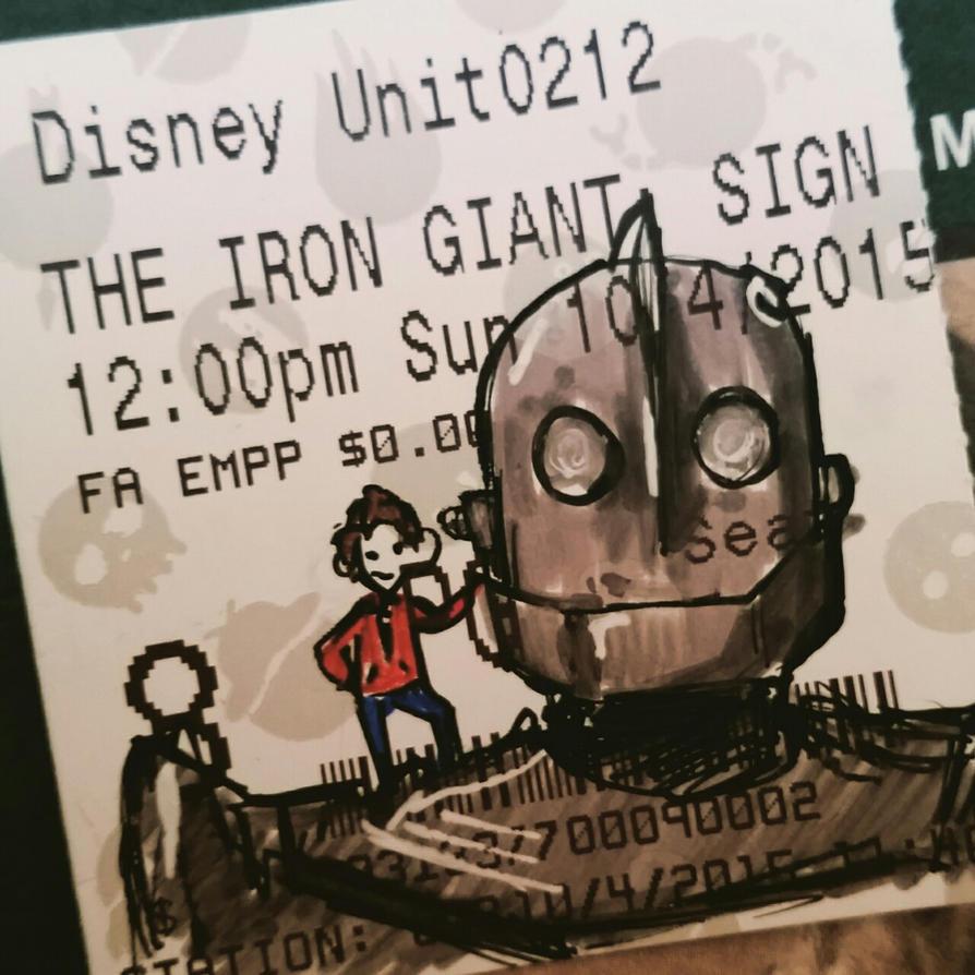 Inktober '15- Day 4: Iron Giant by MarikoRose