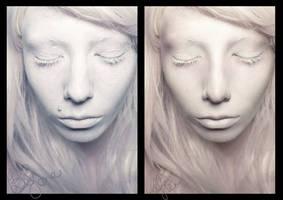 Snow white retouch