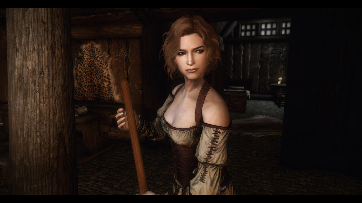 Skyrim Special Edition - Improved Bards: Lynly by cleverbeee