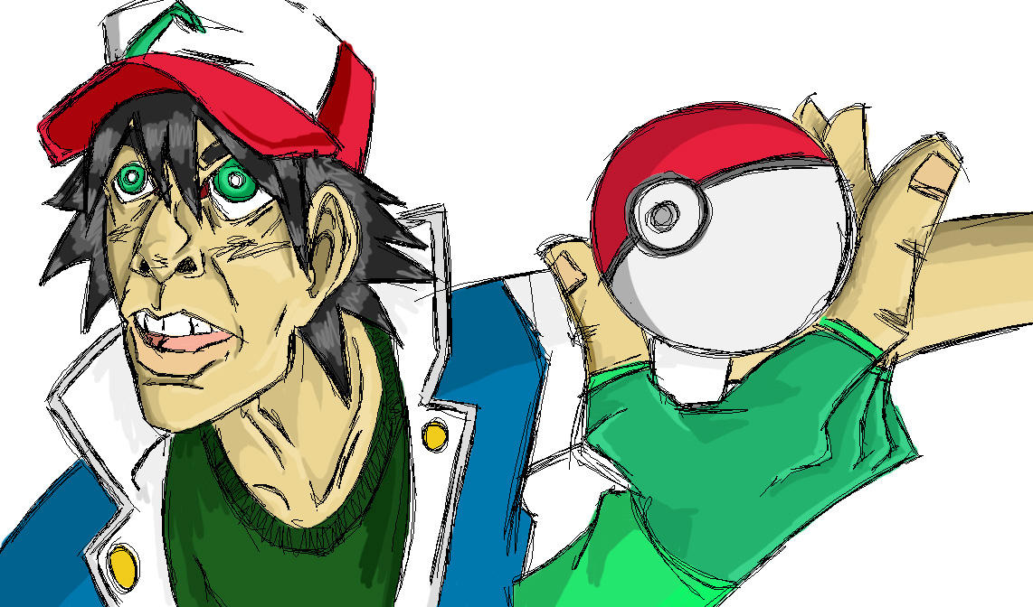 Ash Ketchum by GordyDaPengwin