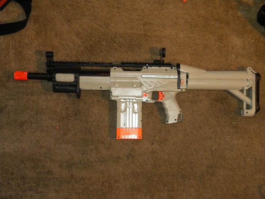 Nerf Alpha SCAR by autobot523