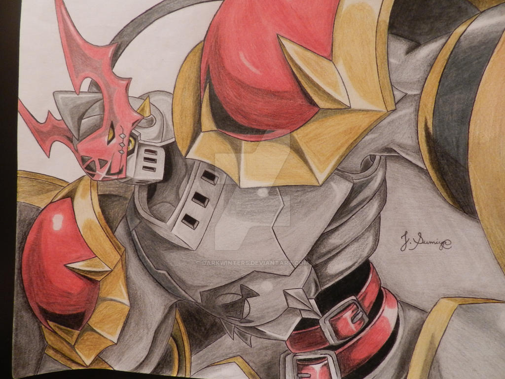 Digimon Tamers - Dukemon by DarkWinters