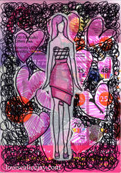Front Cover Of My First Art Journal by Louise-Alicex