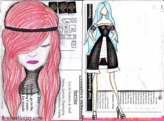Louise Alice Jay Journal Pages 1 by Louise-Alicex