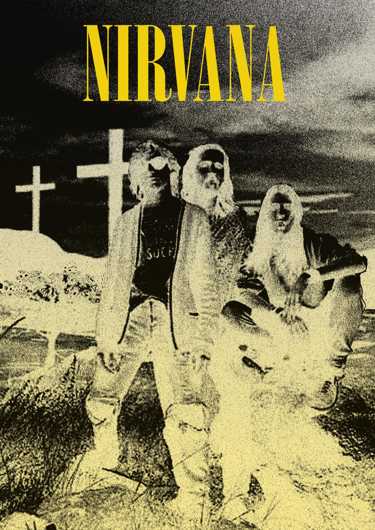 Nirvana Poster by NutQueg on DeviantArt