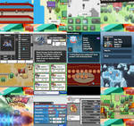 Pokemon Paradise Bunch Screens