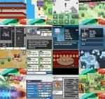 Pokemon Paradise Bunch Screens by Venom12314