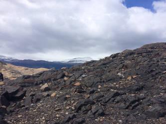 Rocky hill by Aqua-Stock
