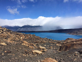 Glacier lake 1 by Aqua-Stock