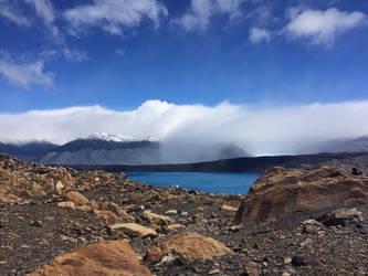 Glacier lake 2 by Aqua-Stock