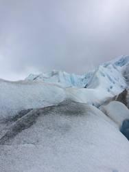 Icy ridge (glacier)