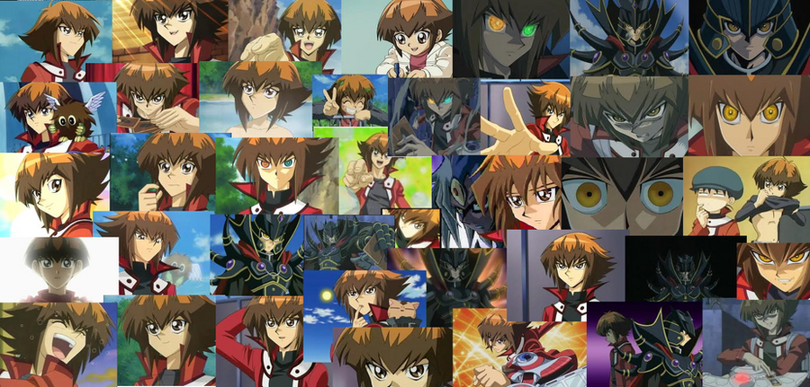 Judai collage Wallpaper by ManatheDMG on DeviantArt