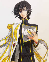 Lelouch Vi Britannia  by MeowImAvery