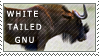 Love for the White-Tailed Gnu by MachatiStamps
