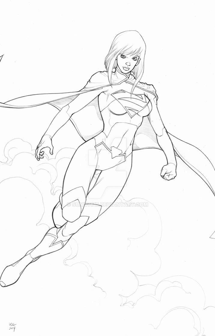 New 52 Supergirl by sunny615