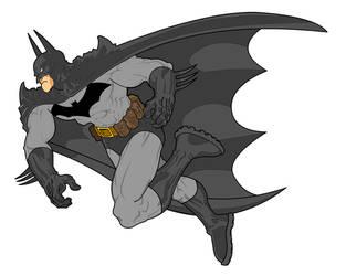 Digital Batman by sunny615