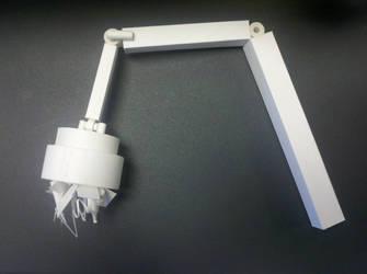 Paper Junkyard Crane by RacheMc125