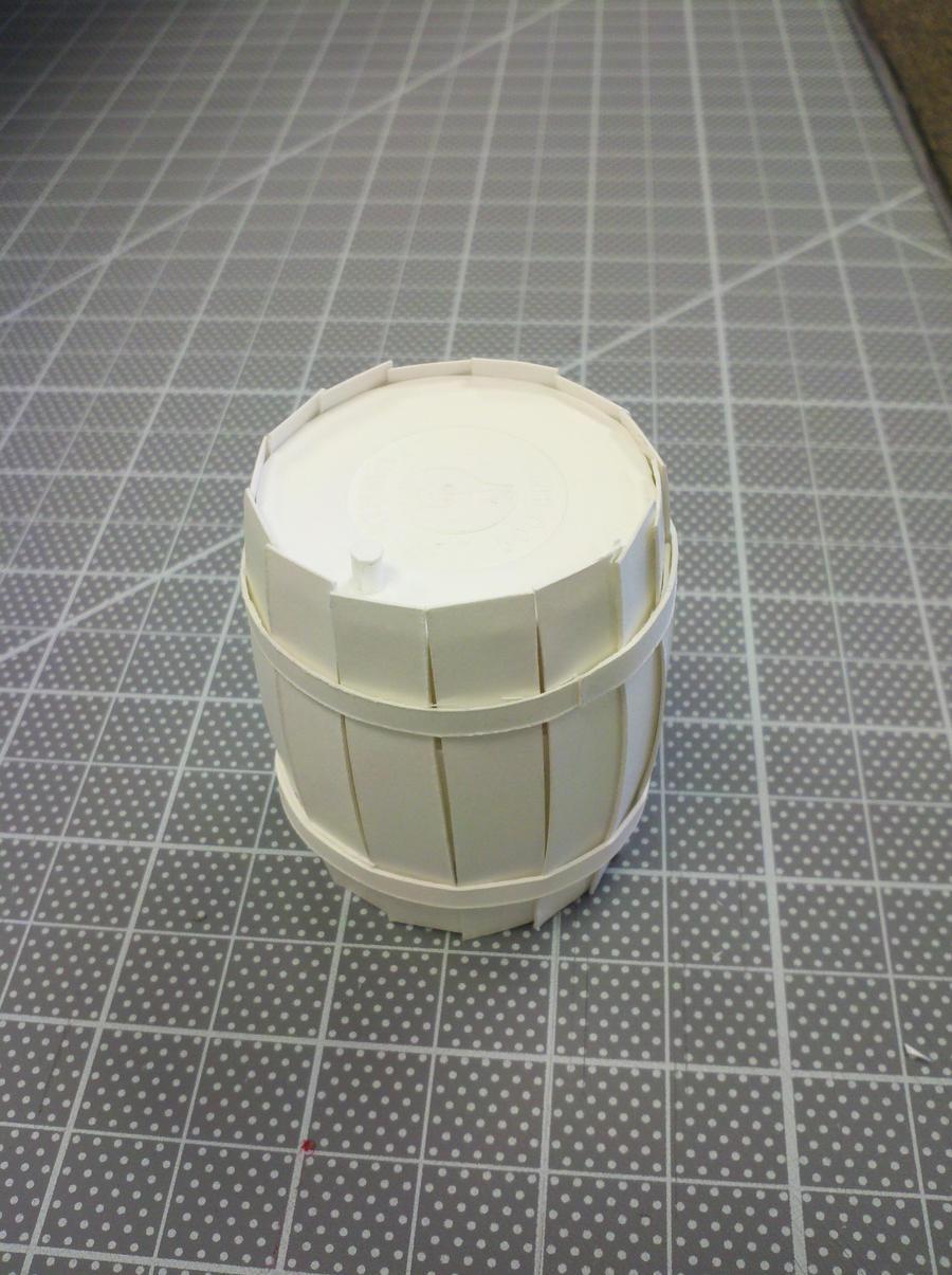 how to make barrels banished
