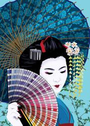 Colorful Geisha