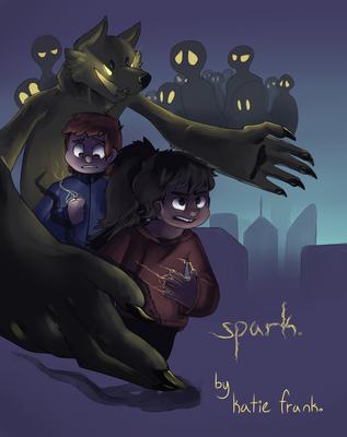 Spark Comic COVER by VeloJello