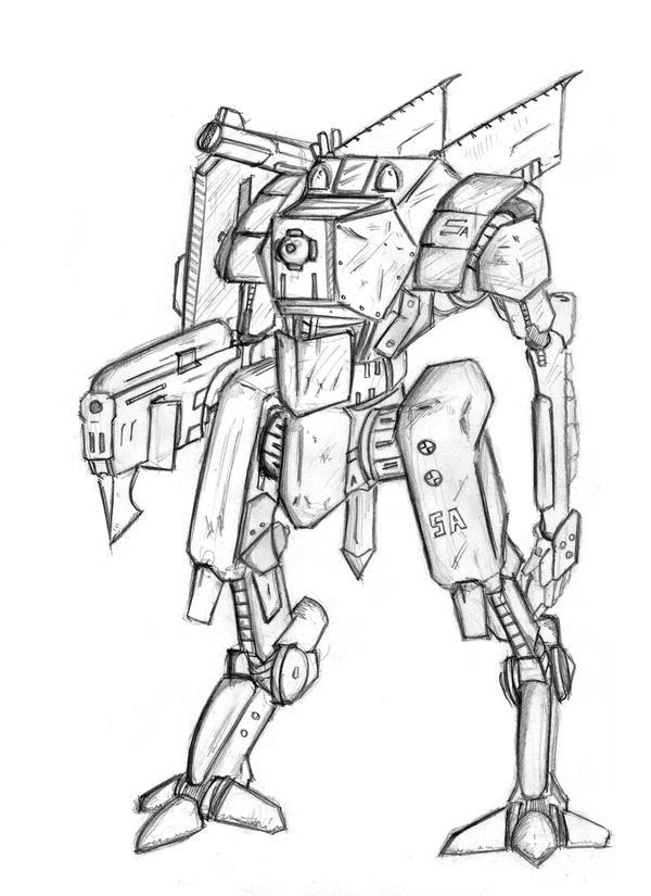 """HNE: TA-11a """"Grunt"""" by Keydan"""