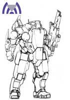 SR-M-3 Testudo (uncolored) by Keydan