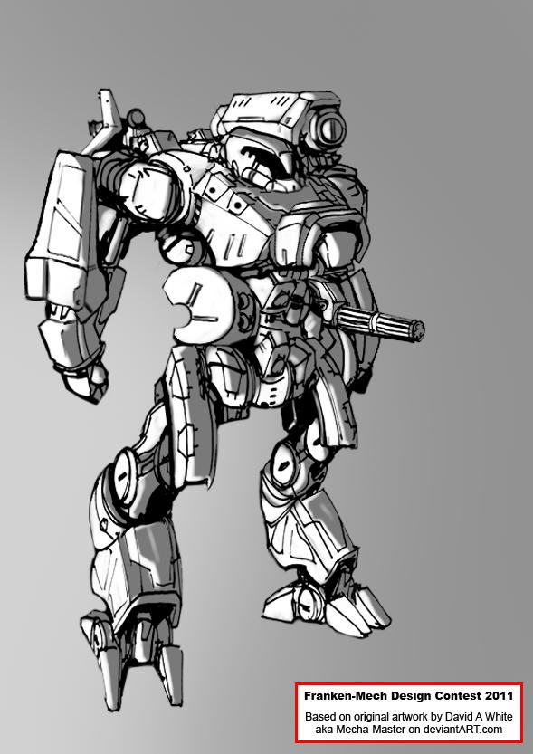 FrankenMech - 01 - Peacekeeper by Keydan