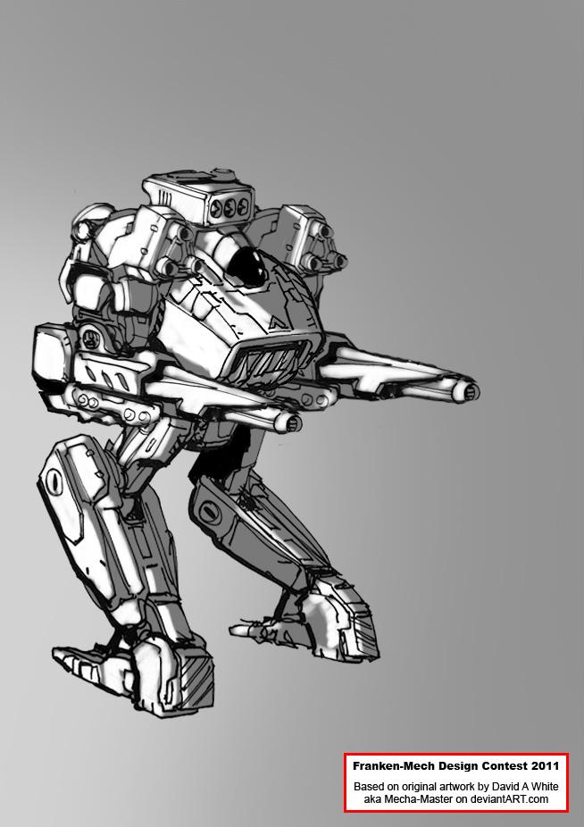 FrankenMech - 04 - Densus by Keydan