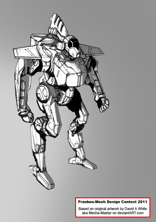 FrankenMech - 05 - Raptorian by Keydan