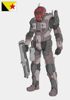 WASP SF suit by Keydan