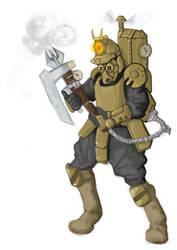 Ussim Steam Thrower