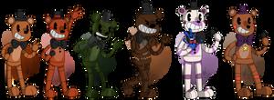 Toon Freddys by superhorse18