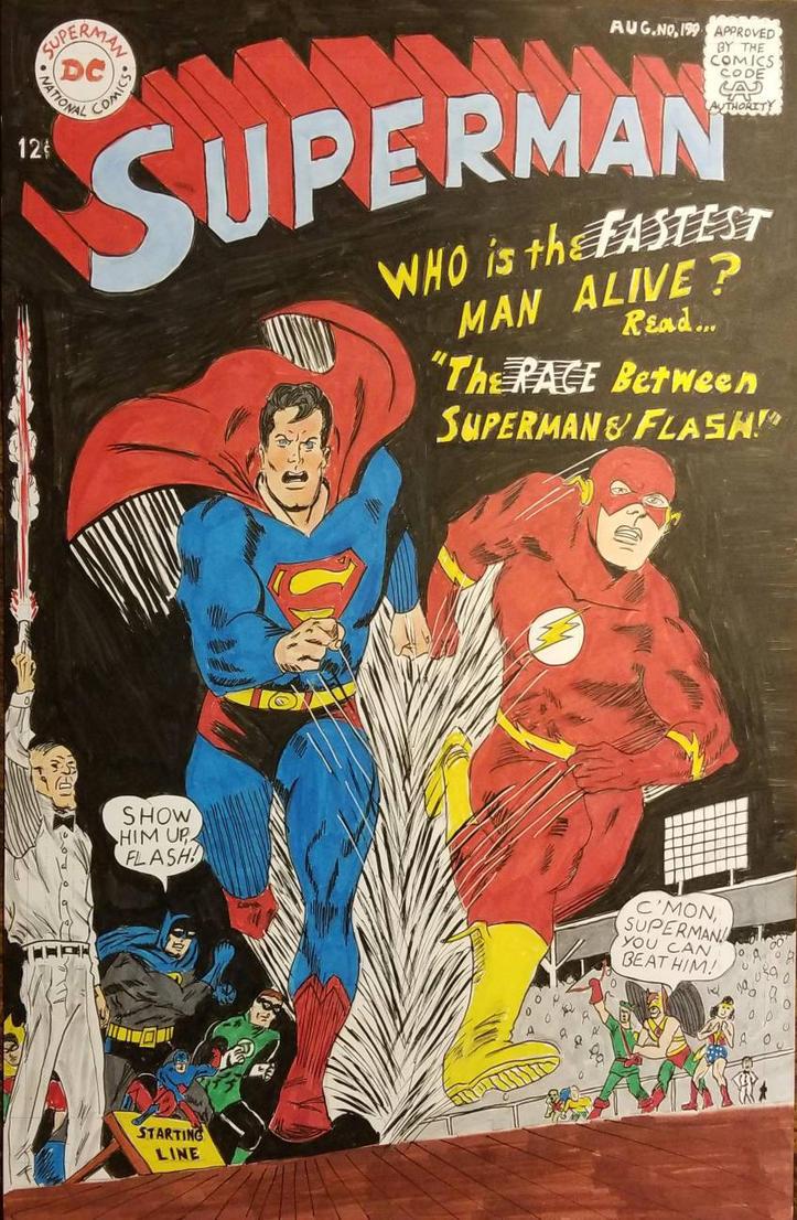 Superman 199 by andyosu20