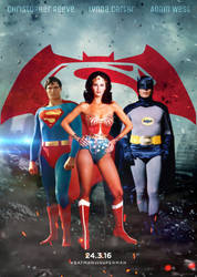 BVS Classic Poster by SimmonBeresford