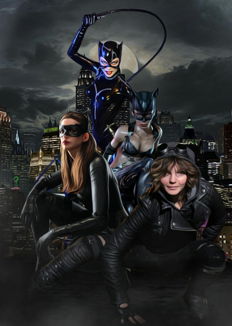 Catwomen by SimmonBeresford