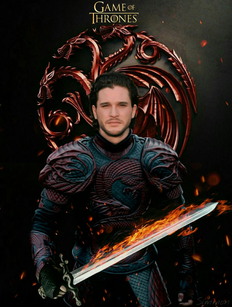 Jon Targaryen by SimmonBeresford