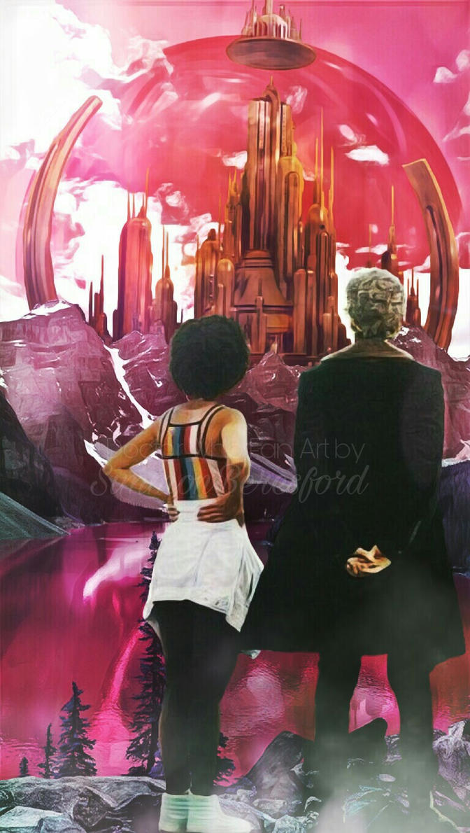 The Doctor and Bill by SimmonBeresford