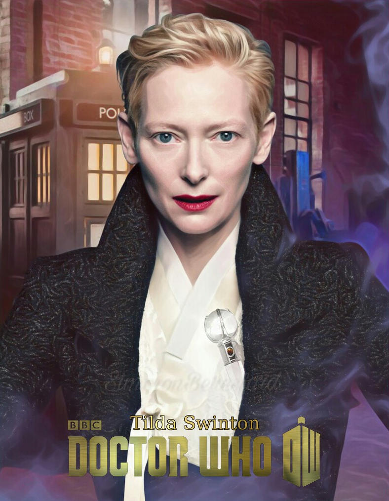 The 13th Doctor Tilda Swinton by SimmonBeresford