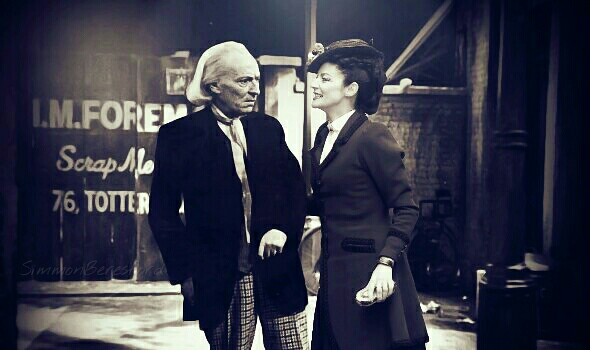 Missy and The First Doctor by SimmonBeresford