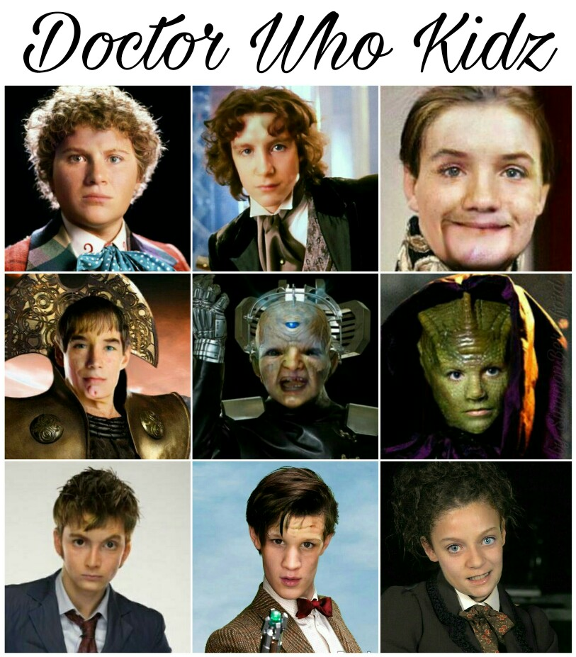 Doctor Who Kids by SimmonBeresford