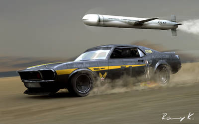 Mustang vs. Tomahawk by RKGrafixx