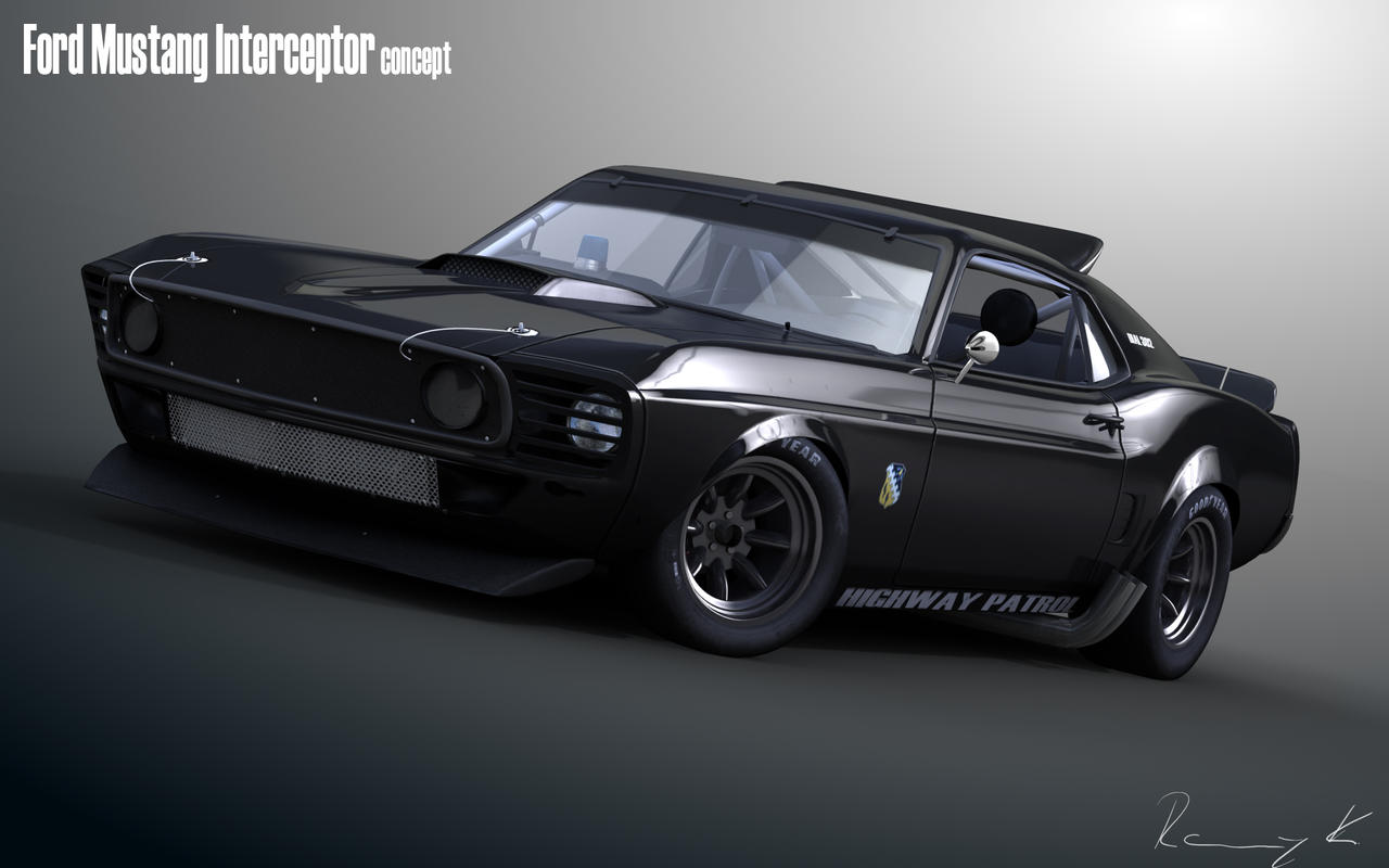 69 Mustang Interceptor By Rkgrafixx On Deviantart